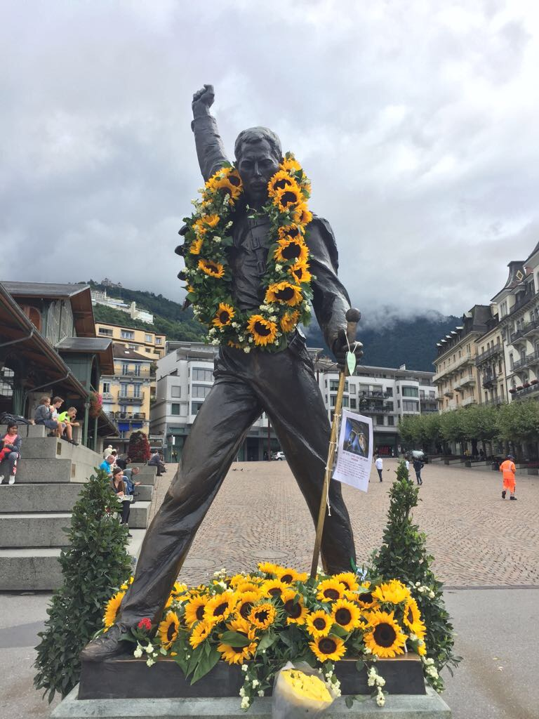 Corporate Video Production Freddie Mercury Montreux